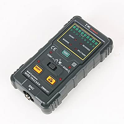 DMiotech® DM6816 Pro RJ45 RJ11 Network Cable Wire Tracker Telephone Line Tester