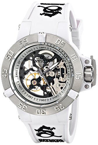 Invicta 17137 42mm Stainless Steel Case White Silicone Mineral Women's Watch