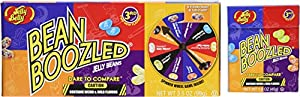 Jelly Belly Beanboozled Party Pack Including 2 Packages of 3.5 Oz Spinner Wheel Game Jelly Bean Gift Box 3rd Edition with 2 - 1.6 Oz Beanboozled Jelly Bean Refills