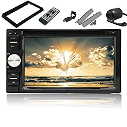 See Pupug Android 4.2 Double Din Car DVD Player In Dash Stereo FM Radio Video Dual CPU Back Camera Details