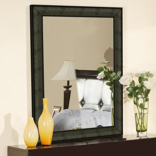 Elegant Arts & Frames Dark Brown Decorative synthetic Mirror 18 inch x 12 inch