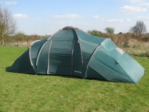 Ultracamp Churchill 9 Man Family Camping Tent