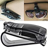 ZCL Car Visor Glasses Sunglasses Ticket Clip Holder , Transparent