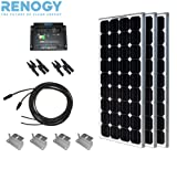 Complete Solar Panel Kit 300W Mono:3pc 100W Solar Panel UL Listed+20