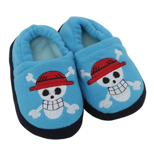 Cheap Childrens/Kids Boys Football & Skull Design Indoor Footwear/Slippers (B009OU6INA)