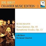 イディル・ビレット:室内楽エディション 第1集 シューマン:ピアノ五重奏曲・交響的練習曲