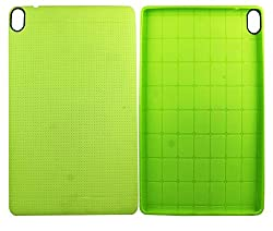 Heartly New Retro Dotted Design Hole Soft TPU Matte Bumper Back Case Cover For HTC Google Nexus 9 Tablet - Great Green