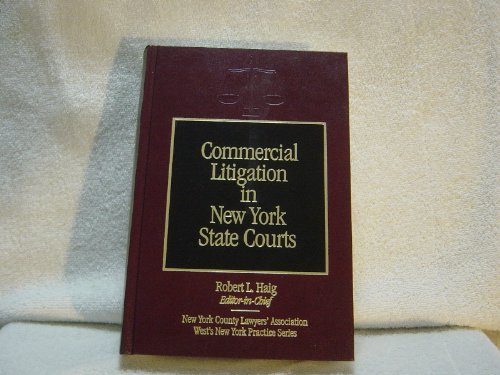 Commercial Litigation in New York State Courts (West's New York Practice Series ; V. 2-4) (Commercial Litigation compare prices)