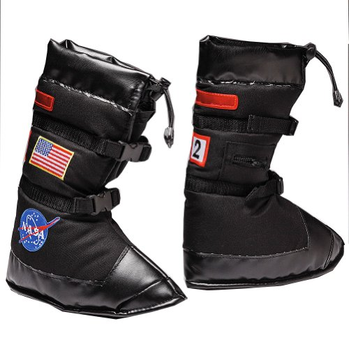 Smithsonian Child's Astronaut Black Boots