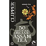 Clipper Organic Assam Tea 50 Tea Bags 125g - CLIP-4533