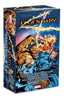 Legendary: A Marvel Deck Building Game: Fantastic Four Expansion (100 Cards)
