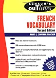 Schaum's Outline of  French Vocabulary (Schaum's Outline Series)