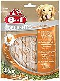 8in1 Delights Twist Chicken Sticks, 35-Piece