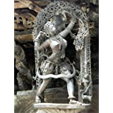 "Dolls Of India ""Huntress - Temple Sculpture From Belur, Karnataka, India"" Photographic Print - Unframed (40.64..."