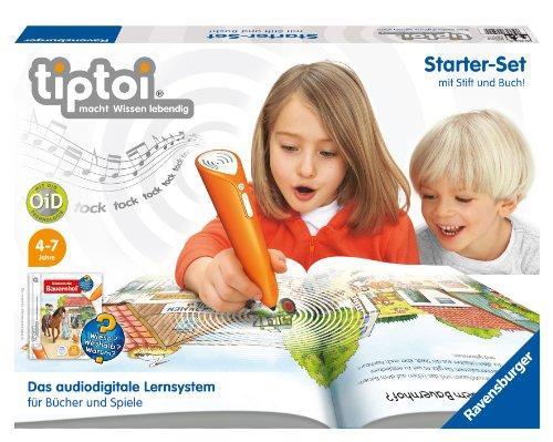 Ravensburger 00502 - tiptoi®: Starter-Set mit Stift & Buch