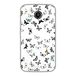 Designer Phone Covers - Moto X2-butterflies