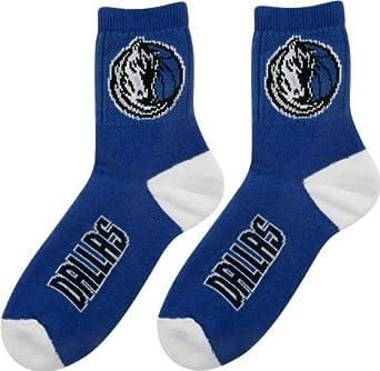Essentials Dallas Mavericks Logo Quarter Sock by For Bare Feet