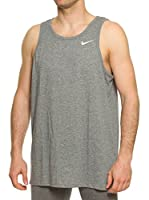 Nike Camiseta Tirantes Dri-Fit Tank (Gris)