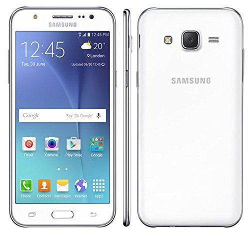 Samsung Galaxy J5 SM-J500H/DS GSM Factory Unlocked Smartphone, International Version (White) (Samsung Galaxy Phone Unlocked compare prices)