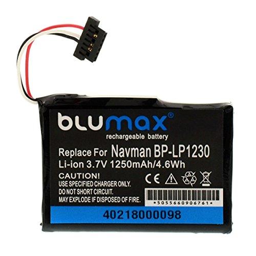 BLUMAX batteria pila BP-LP1230 11-A0001U 3.7V 1250mAh per navigatore GPS NAVMAN