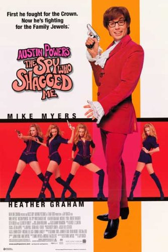 Austin Powers Spy Who Shagged Family Jewel 23x34 Poster