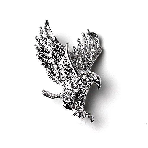 (スミスアンドスコット) Smith & Scott 全14タイプ メンズ ラペルピン ブランド ネクタイ 成人式 二次会 プレゼント にもおすすめ ボックス 付き 09 Eagle
