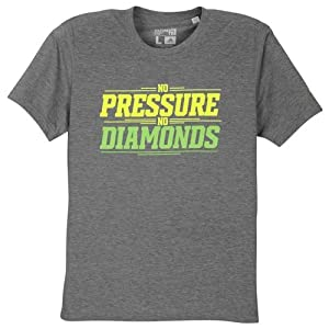 Robert Griffin III Adidas Grey No Pressure No Diamonds Climalite T-Shirt (Size Large)
