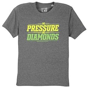 Robert Griffin III Adidas Grey No Pressure No Diamonds Climalite T-Shirt (Size Small)