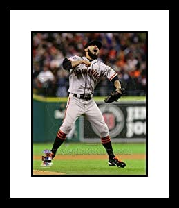 Sergio Romo San Francisco Giants MLB Framed 8x10 Photograph 2012 World Series Celebrating - Framed MLB Photos, Plaques, and Collages