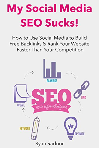 MY SOCIAL MEDIA SEO SUCKS!: How to Use Social Media to Build Free Backlinks & Rank Your Website Faster Than Your Competition