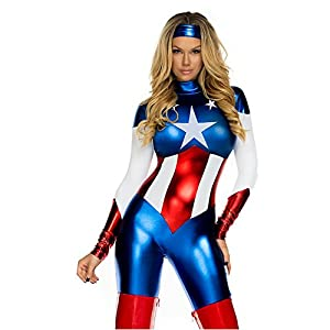 Forplay Astonishing Allegiance Women's Sexy Costume (Extra Small/Small)