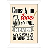 TIED RIBBONS® Inspiring Quotes Posters With Frame