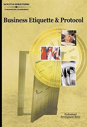 Business Etiquette & Protocol: Professional Development Series, Bennett, Carol
