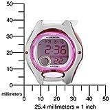 Casio Women's LW200-7AV Digital White Resin Strap Watch