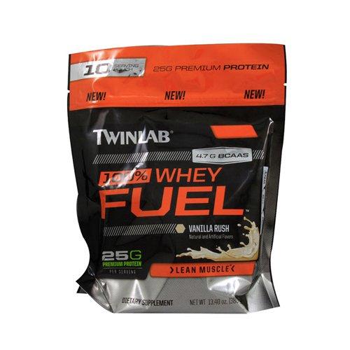 Twinlab 100% Whey Fuel Vanilla 10 Servings 13.4 Oz