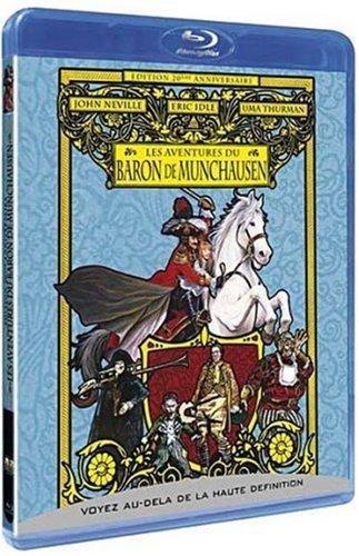 Les aventures du baron de Munchausen - Édition 20ème anniversaire [Blu-ray] [FR Import]