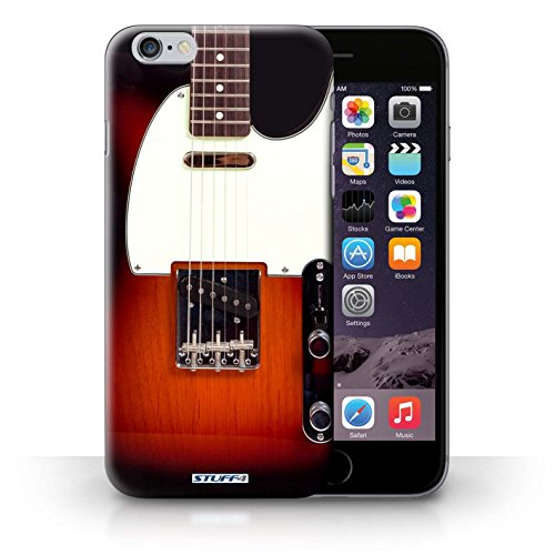 Stuff4 Phone Case / Cover For Iphone 6+/Plus 5.5 / Sunburst Electric Design / Guitar Collection