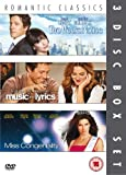 Romantic Classics 3-Disc Box Set: Two Weeks Notice, Music And Lyrics and Miss Congeniality [DVD] [2007]