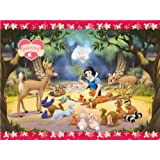 Amscan Disney Snow White Plastic Tablecover
