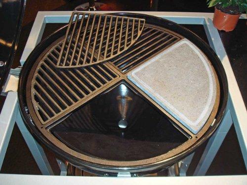 grillrost ausverkauf cig 57 vierteiliger grillrost f r 57 cm grills aus gusseisen. Black Bedroom Furniture Sets. Home Design Ideas