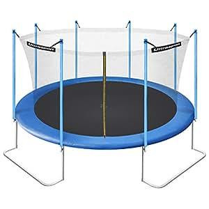 Ultrasport Jumper trampoline de jardin 430 cm avec filet de sécurité