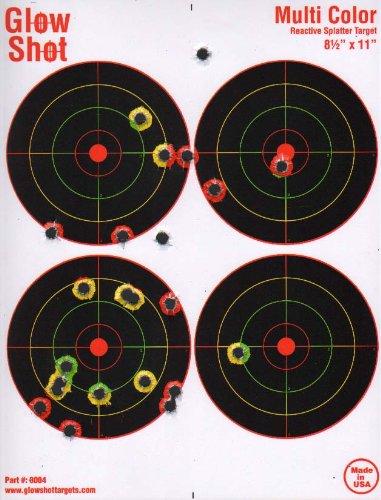 25 Pack - 4 Bullseye 8 1/2