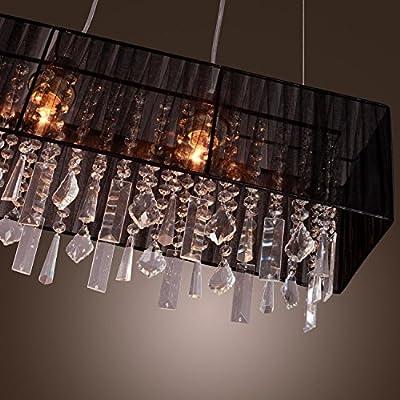 US Elegant Crystal Chandelier Modern Ceiling Light Lamp Pendant Lighting Fixture ;PO#44T-KH/435 H25W3313766