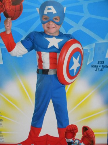 Marvel Spiderman & Friends Boys Costume Size 3t-4t