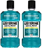 Listerine Antiseptic Mouthwash, Cool Mint, 33.8 Ounce