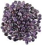 Pebblewala Stone Vase Fillers (25 cm x 17 cm x 10 cm, Purple)