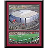 Arizona Cardinals Uni Of Phoenix Aerial View Large Stadium Poster With Team Photo-Framed With Team Color Double... coupons 2015