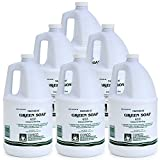 COSCO Tincture of Green Soap U.S.P. Medical Tattoo Cleanser -Six 1 Gallon Jugs
