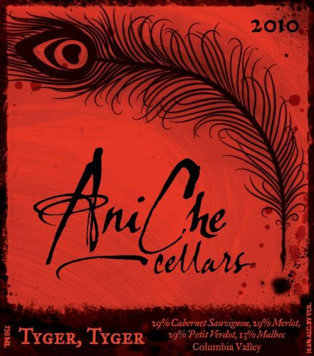 2010 Aniche Cellars Tyger, Tyger Red Blend 750 Ml