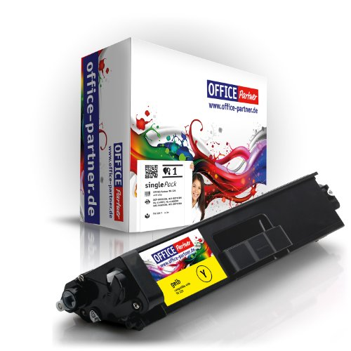 Toner compatibile Brother TN325Y (yellow) per stampanti Brother DCP 9055 CDN / 9270 CDN ; HL 4140 CN / 4150 CDN / 4570 CDW / 4570 CDWT ; MFC 9460 CDN / 9465 CDN / 9970 CDW